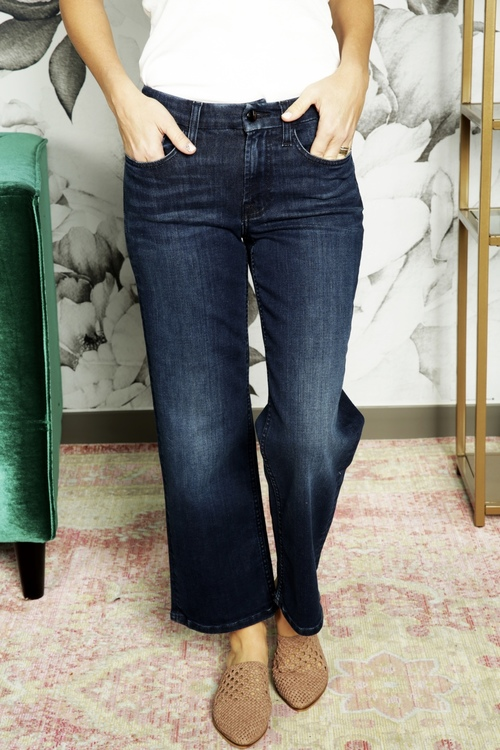 Jen7 Cropped Wide Leg