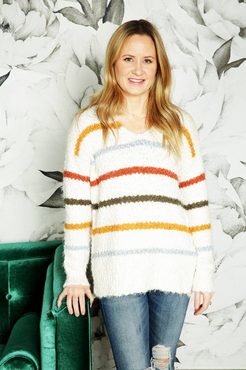 Antonia V-Neck Sweater