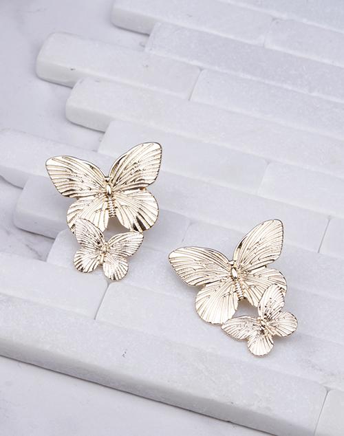Double Butterfly Dangle