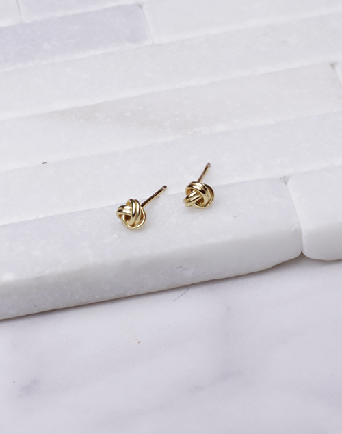 Small Rope Knot Stud