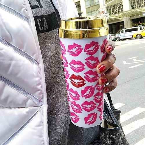 Kiss Me! Travel Mug