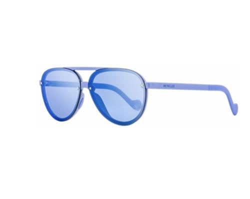 Blue Plastic Aviator