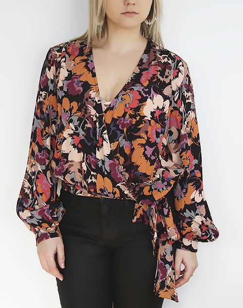Harvest Flowers Top