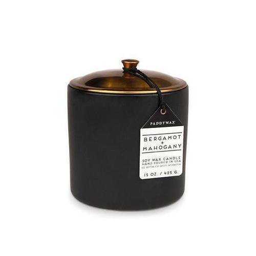 Hygge 15 oz Bergamot Mahogany Candle