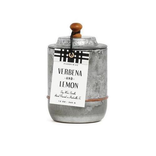 Homestead Galvanized Verbena & Lemon Candle