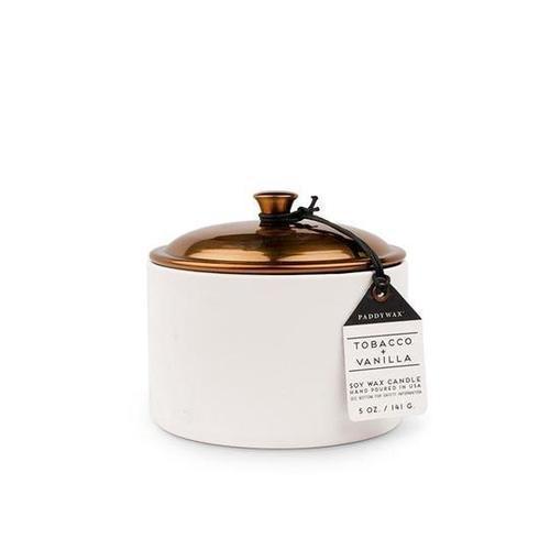 Hygge 5 oz Tobacco Vanilla Candle