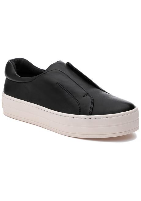 J/Slides Heidi Black Leather