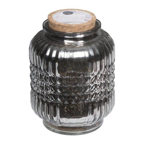 Gunmetal Lantern Candle Sweet Grace