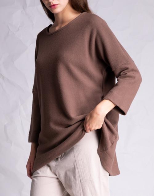 Long Sleeve Knit Tunic Top