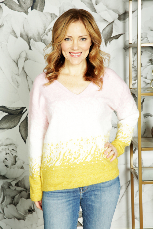 Nema V-Neck Sweater
