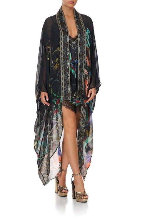 Layer W/ Kimono Collar