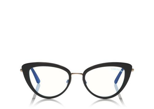 Blue Block Cat-Eye Opticals