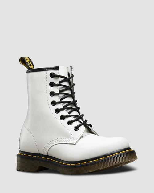 Dr. Martens 1460W White Smooth