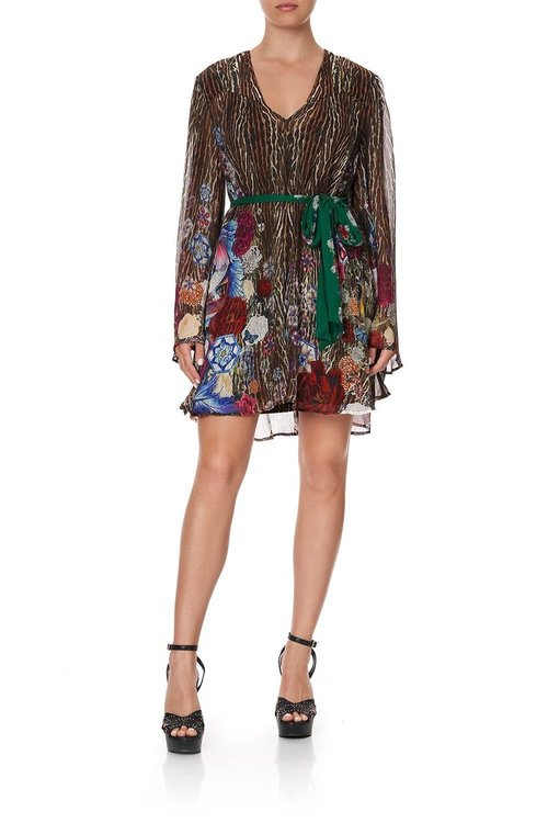 Short Dress w/ Yoke