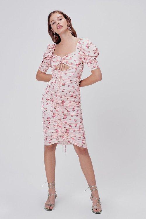 Aster Floral Mini Dress