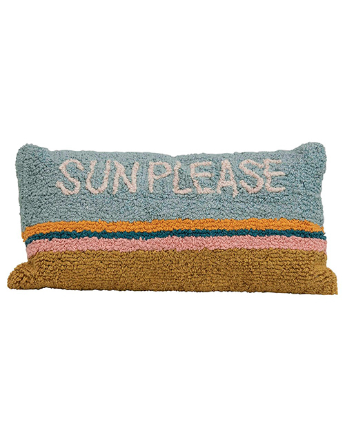 Sun Please Lumbar Pillow