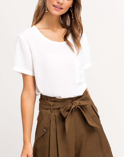 Go To Short Sleeve Top