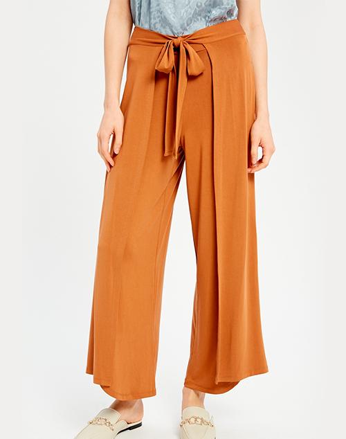 Golden Belted Pants