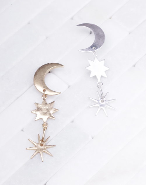 Moon And Stars Dangle