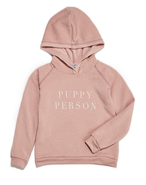 Puppy Person Kids Hoodie
