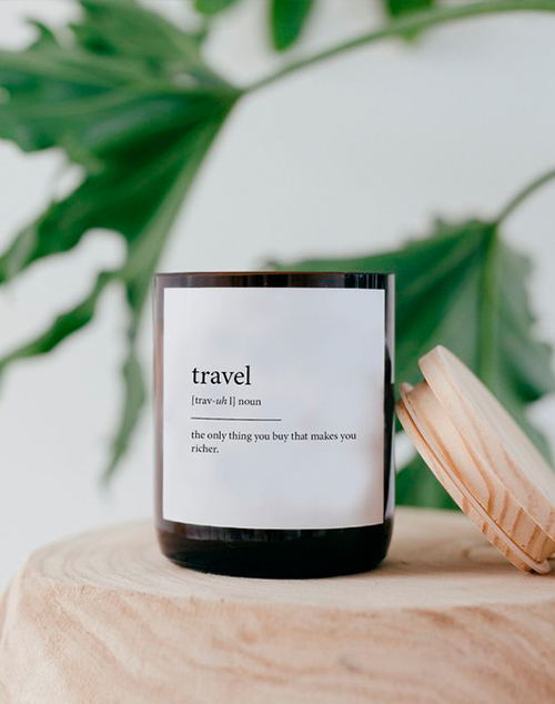 Dictionary Candle - Travel - Mali