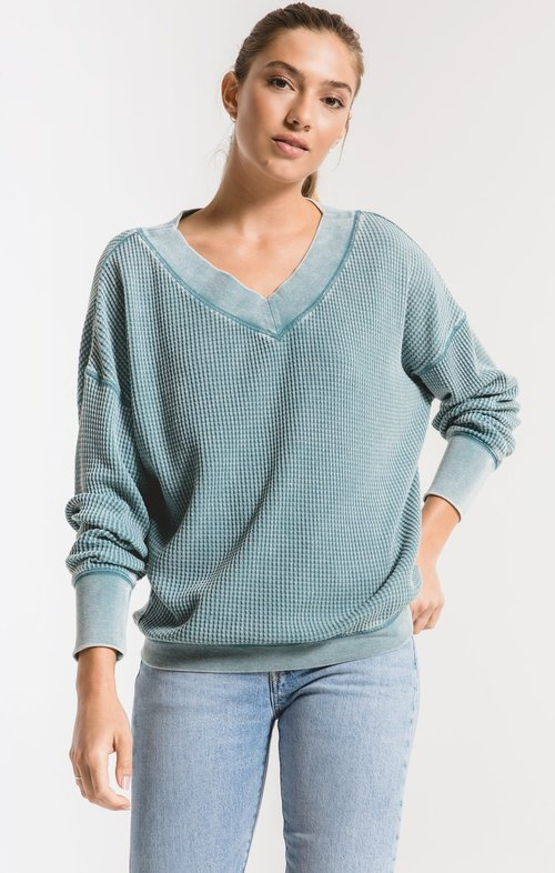The Storm Blue Emilia Top