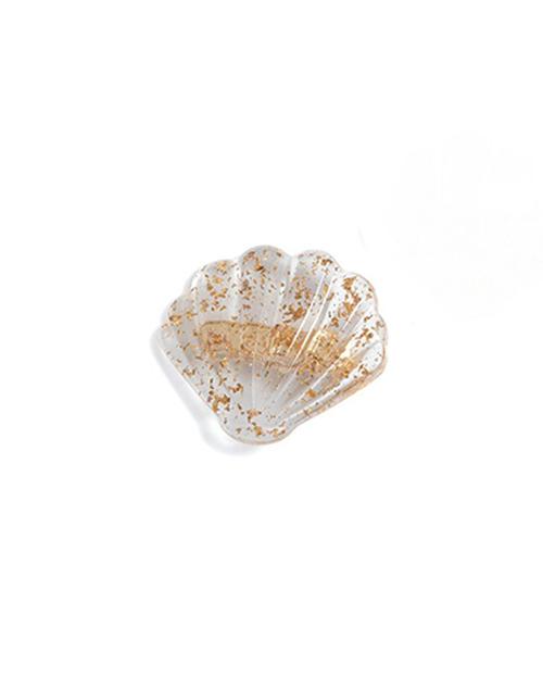 Shell Gold Hair Clip