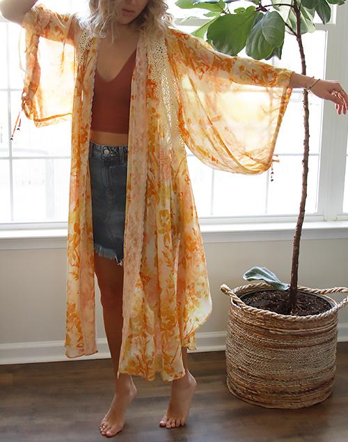 Lost In Love Kimono
