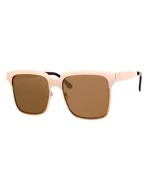 Understood Gold Sunglasses