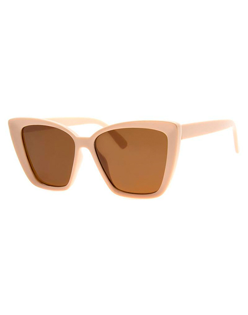 Orchestrated Beige Sunglasses
