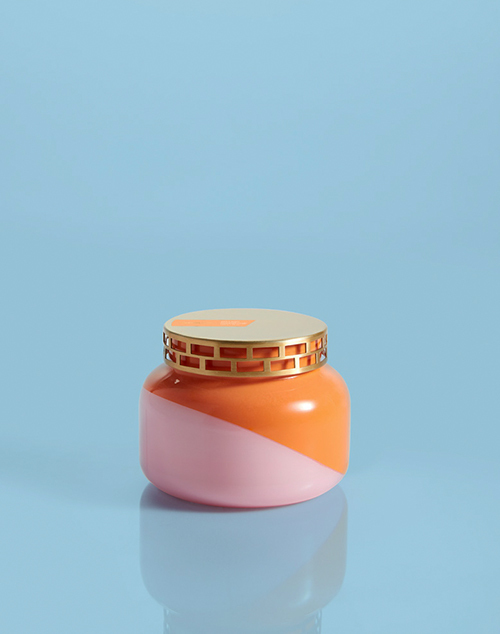 Signature Dual Tone Volcano Jar Candle