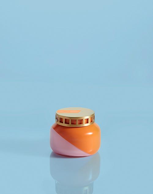 Petite Dual Tone Volcano Jar Candle