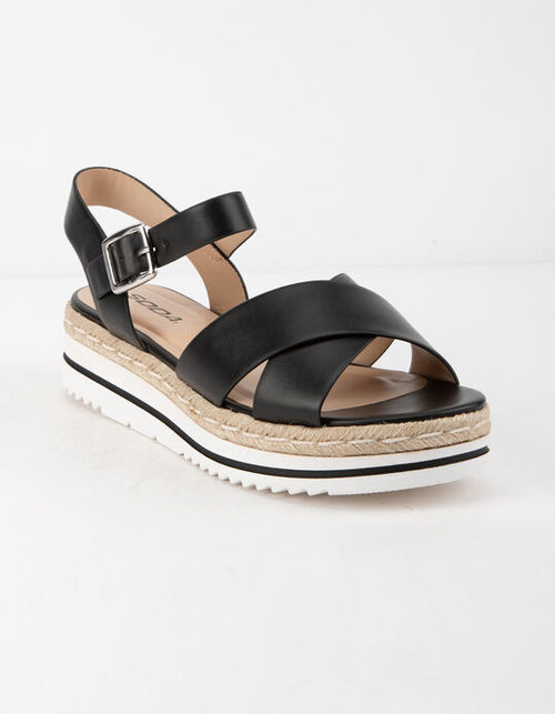 Picnic Woven Platform Sandal