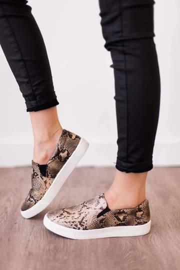 Reign Python Sneaker