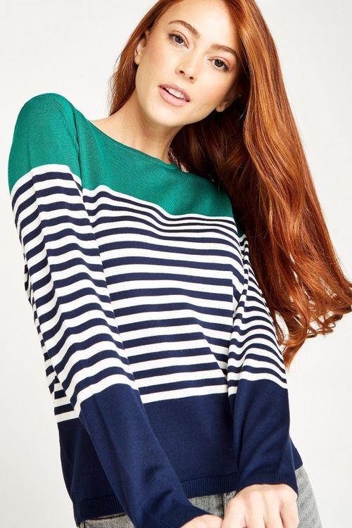 Bay Colorblock Nautical Jumper