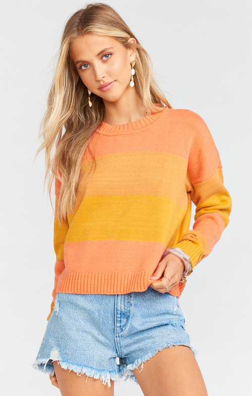 Cropped Varsity Sweater