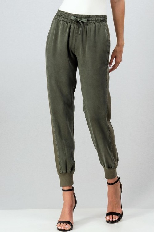 Mineral Washed Drawstring Pant