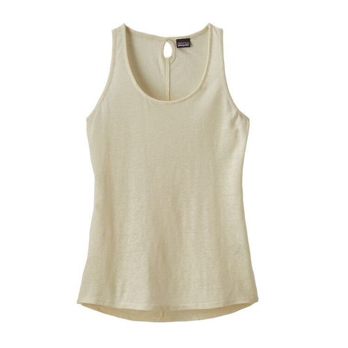 Patagonia W Mount Airy Scoop Tank White Wash