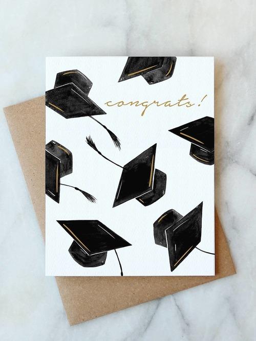 Congrats Grad Hat Card