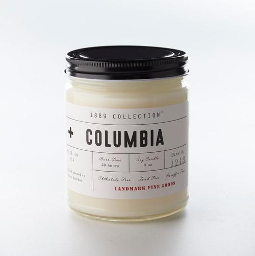 Columbia Candle