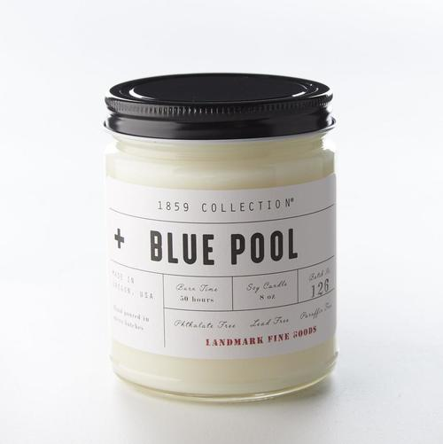Blue Pool Candle
