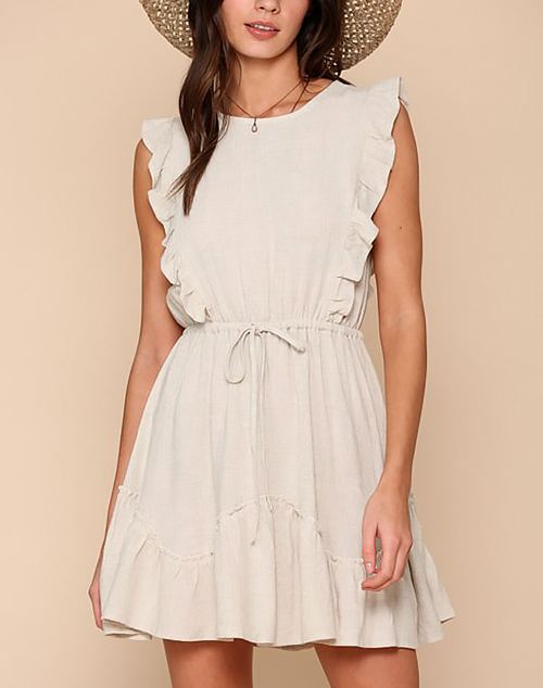 Nicole Ruffle Dress