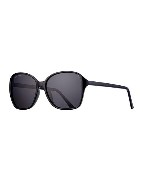 Althea Black/Smoke Polarized Sunglasses