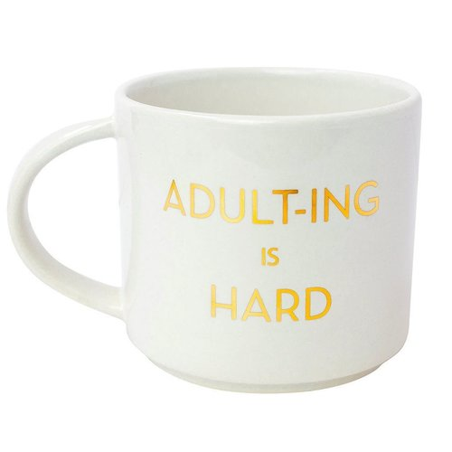 Adult'ing is Hard Mug