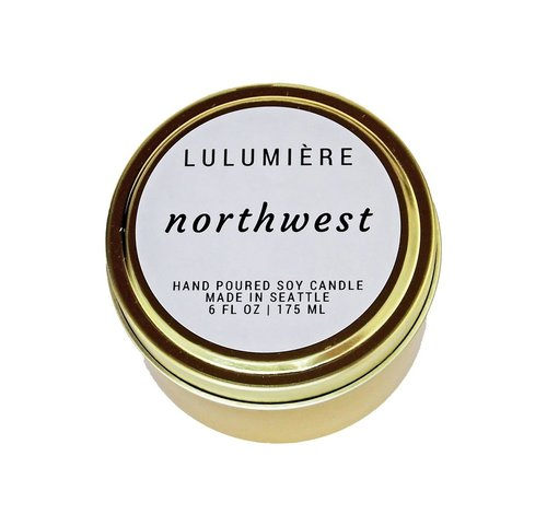Lulumiere 6oz Northwest Tin Candle
