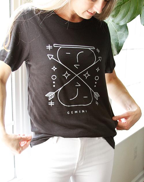 Zodiac Gemini Tee