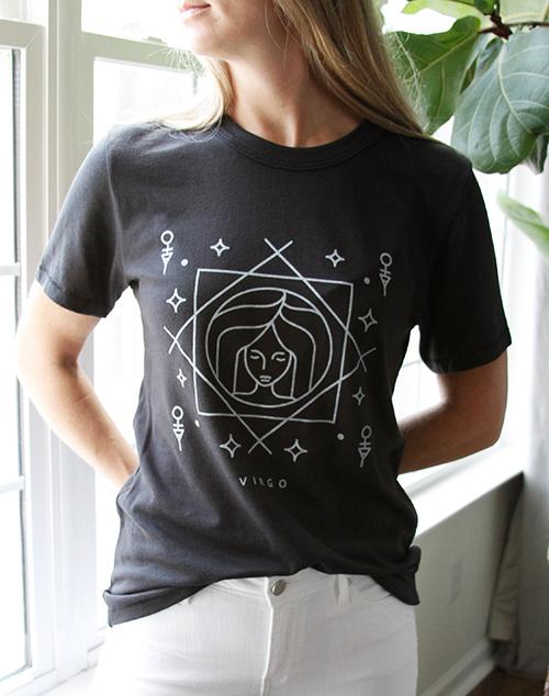 Zodiac Virgo Tee