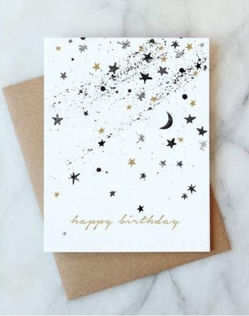 Stars Birthday Card