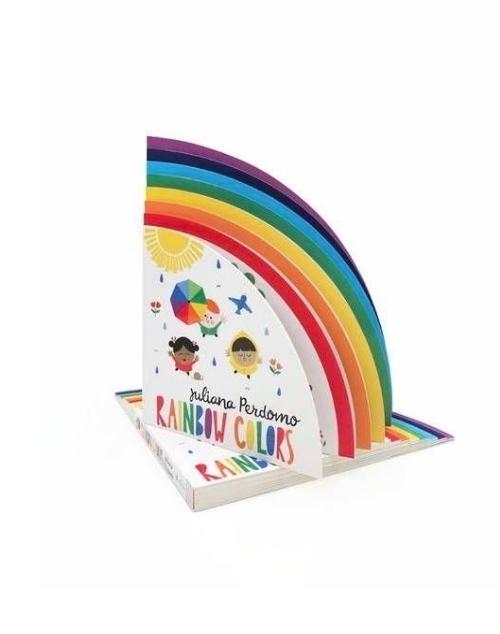 Rainbow Colors Book