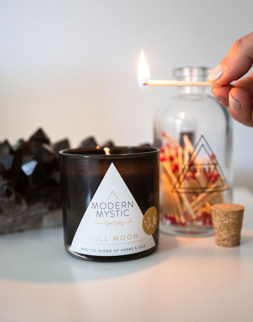 Full Moon Candle